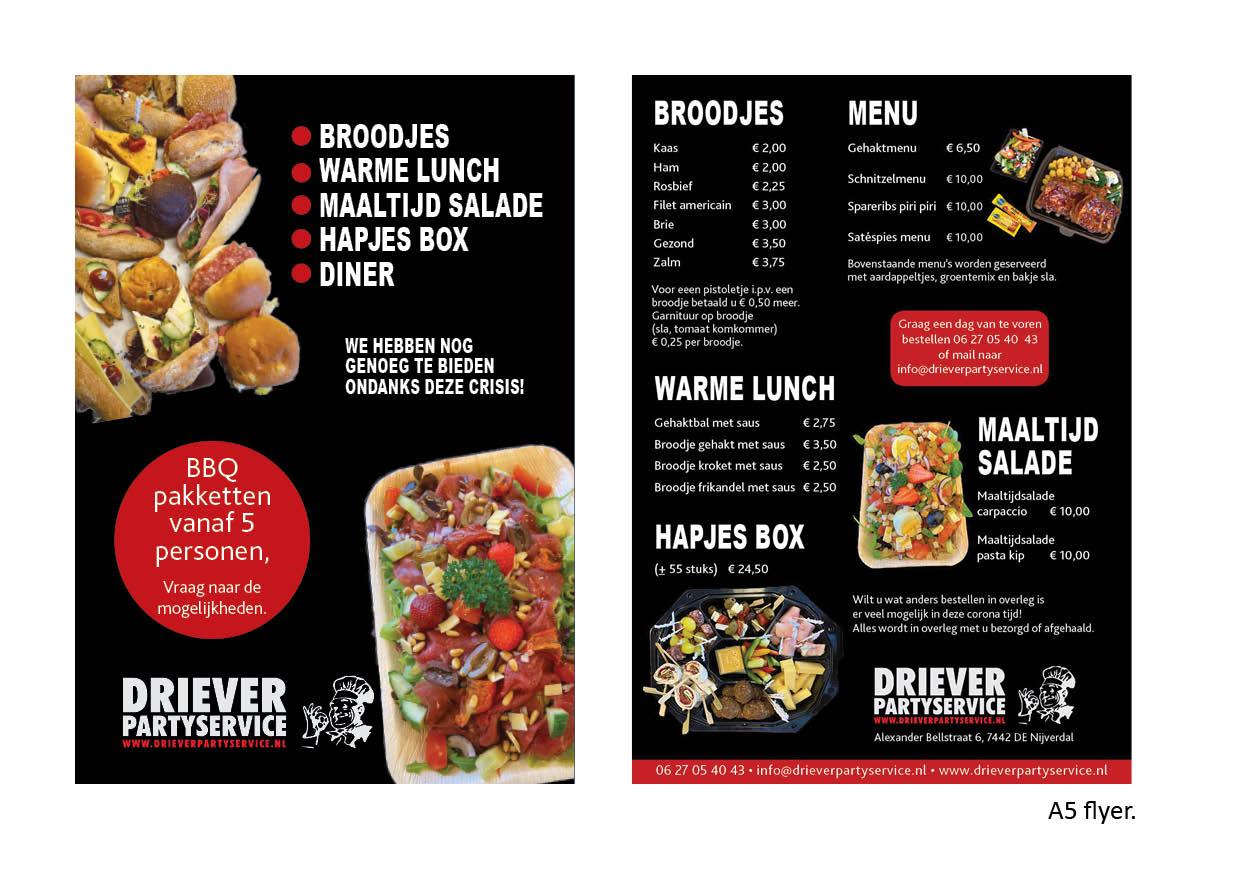 A5 flyers reklame Nijverdal