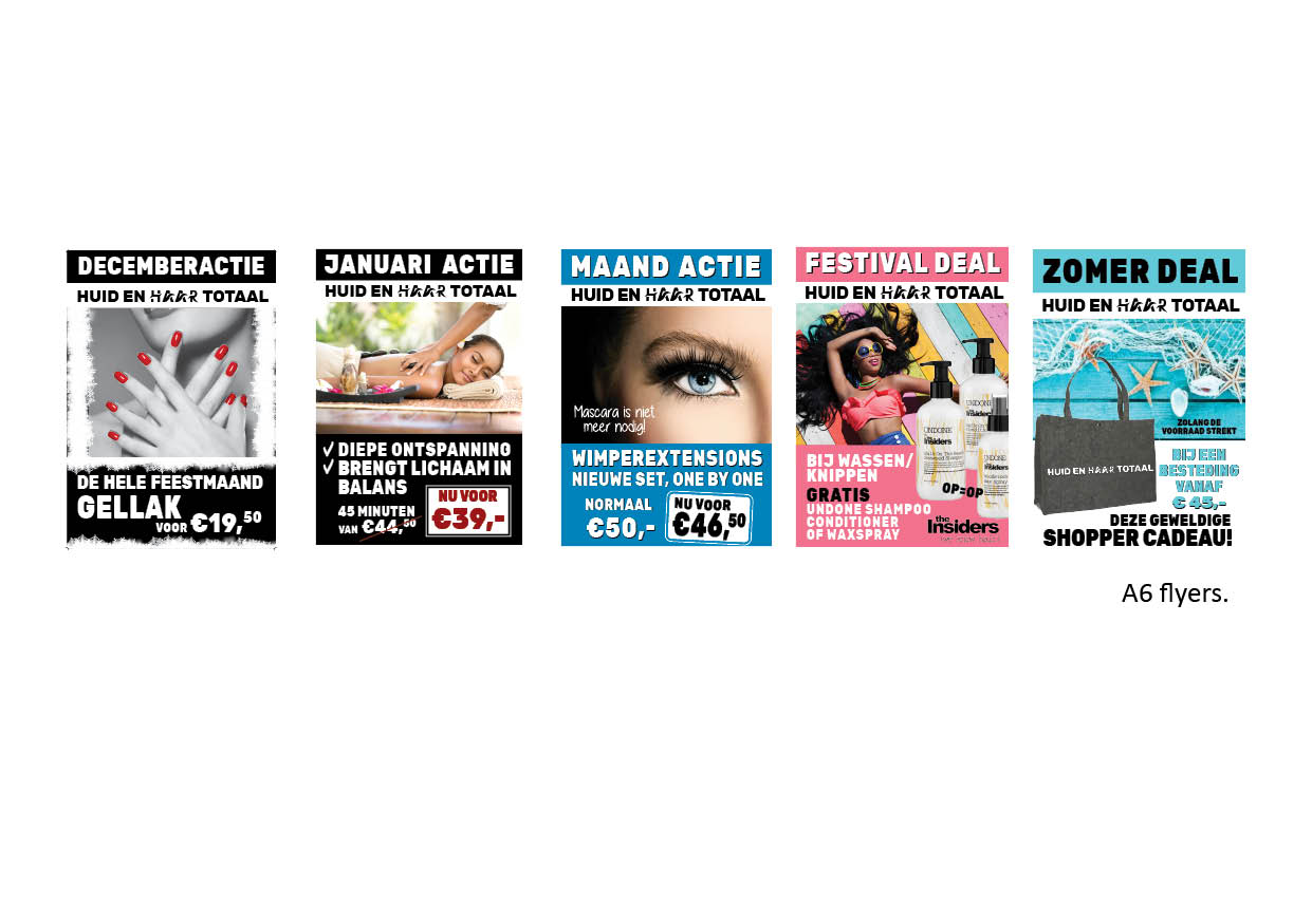A6 flyers reclame Nijverdal
