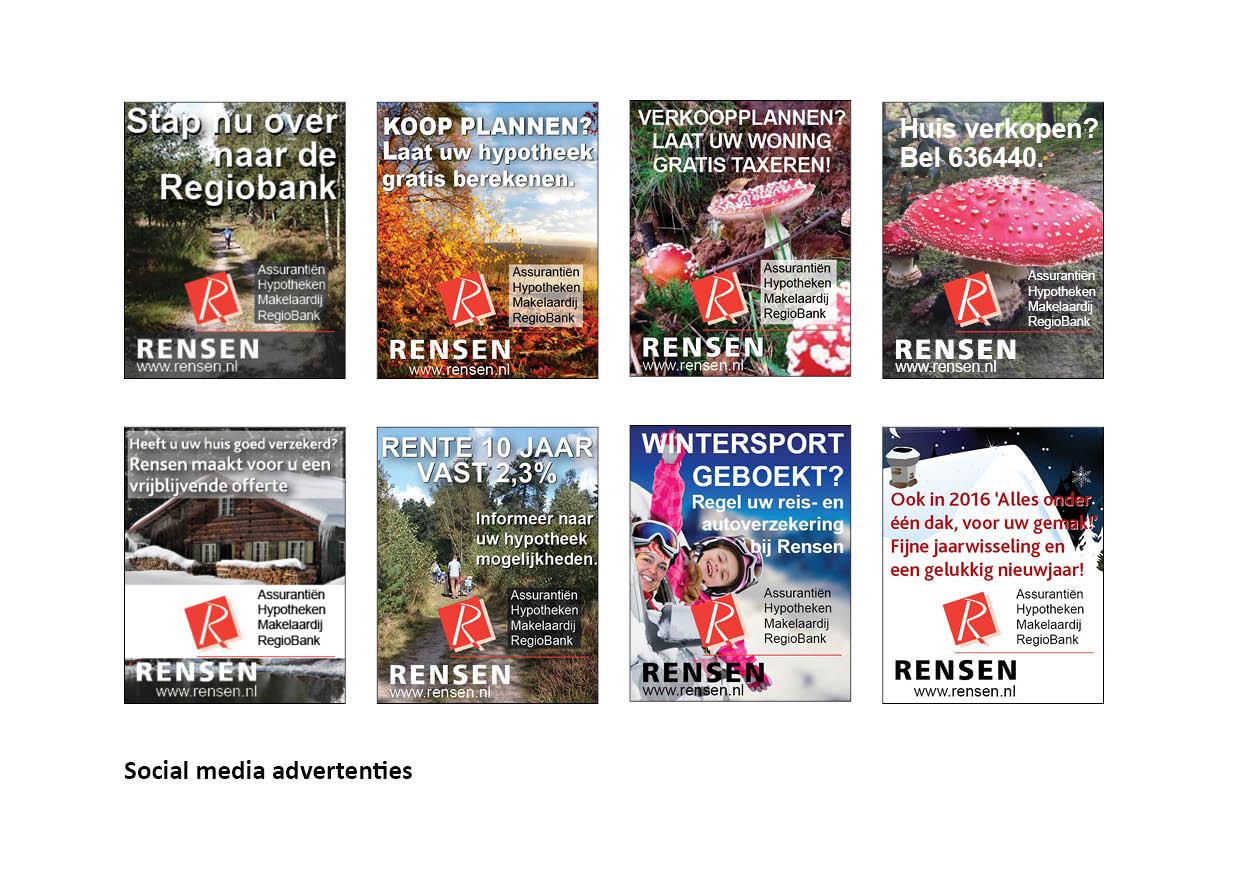 social media advertentie reclame nijveral